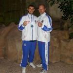 """Franck """"le coach"""" et Vincent """"le médaillé"""""""